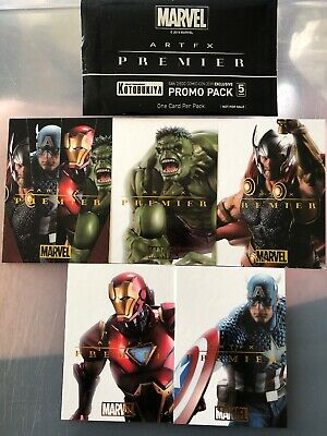 SDCC 2019 Marvel Artfx Promo Trading Card Set Scarce