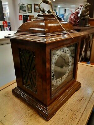 Smiths Enfield Quarter Westminster Walnut Bracket Carriage Clock Collect BD21