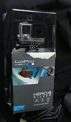 GoPro HERO 4 Digital Camcorder - Silver - With 32 GB Micro SD