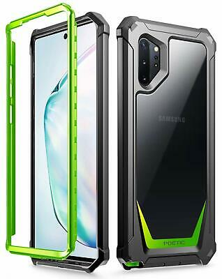 Galaxy Note 10 Plus / Note 9 Case Poetic® Hybrid Shockproof Clear Back Cover