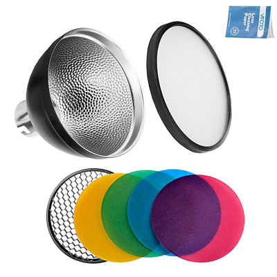 Godox AD-S2 Standard Reflector with Soft Diffuser and ad-s11 Witstro Flash for