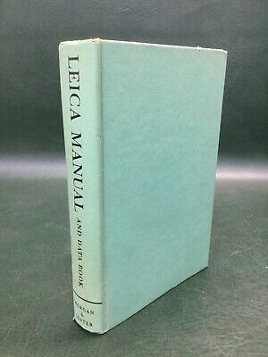 Leica Manual and Data Book by Morgan & Lester, HC 1955