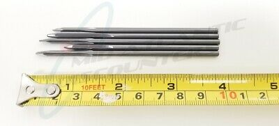 "5 1/8"" .1285 4"" Straight Flute Aircraft Regrind Reamer Tapper Drill Bits TR8653"