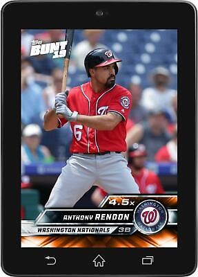 Topps BUNT Anthony Rendon 4.5X Boost ORANGE 2019 Series 1 [DIGITAL CARD]