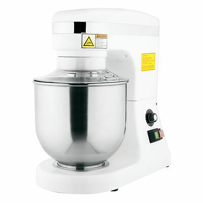 7 qt. Commercial Planetary Floor Baking Mixer with Guard