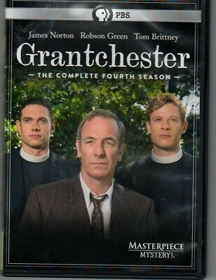 Masterpiece Mystery: Grantchester Complete FOUR ( DVD 2019, 2-Disc Set)