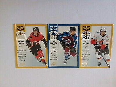 2018-2019 Upper Deck Lot Of 5 Under25 Cards See List