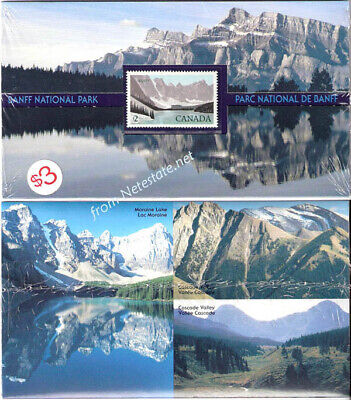1985 BANFF NATIONAL PARK Canada Thematic Collection 30 MNH <<SEALED>>