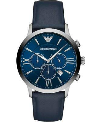 Emporio Armani AR11226 Chronograph Men's Watch Blue 43mm Stainless Steel