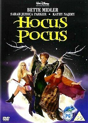 HOCUS POCUS (DVD-2001, 1-Disc) Region 2. Hollywood superstar Bette Midler*****