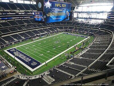 2 Dallas Cowboys vs New York Giants Tickets