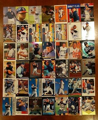 Todd Greene Baseball Card Lot ROOKIE RC Minor League MLB Angels Autograph Best