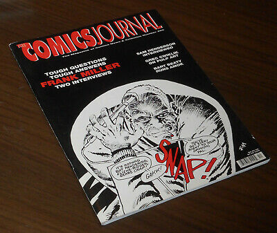 THE COMICS JOURNAL 209 Frank Miller and Sam Henderson USA Fantagraphics 1999