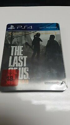 The Last Of Us Remastered Ps4 Steelbook USK