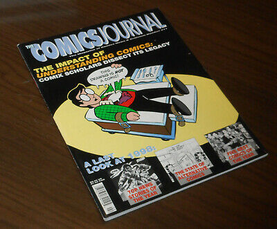 THE COMICS JOURNAL 211 The Impact of UNDERSTANDING COMICS USA Fantagraphics 1999