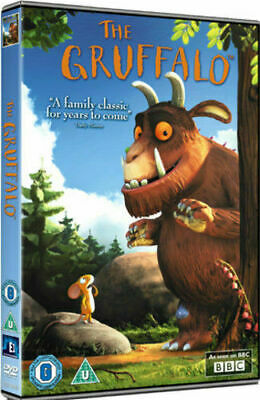 """The Gruffalo (DVD-2010, 1-Disc) Region. """"A family classic for years to come.""""***"""