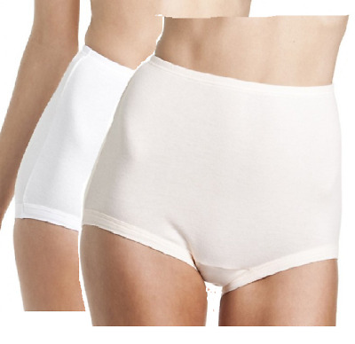 Bonds Womens Satin Touch Cottontails Full Brief Underwear Size 12-24 Banded Leg