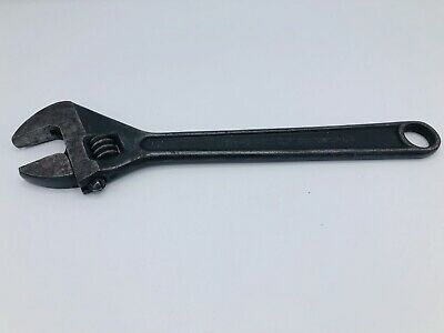 """Proto Professional 712-S 12"""" Adjustable Crescent Pipe Wrench Vintage USA Smooth"""