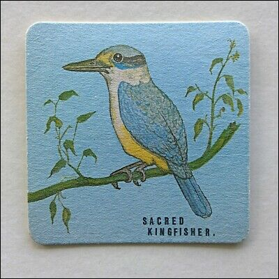 Sacred Kingfisher Bird Coaster (B370)