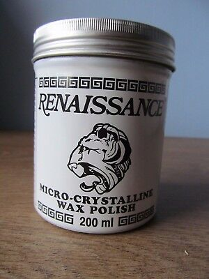 Renaissance wax polish 200ml Antique Restoration, Silver, Coins, Arms & Armor