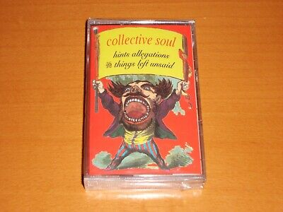 Collective Soul Hints, Allegations And Things Left Unsaid Cassette Tape New!!!