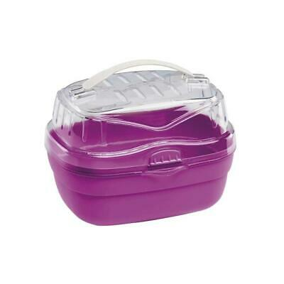 Ferplast Aladino Hamster Carrier, Small, 20 X 16 X 13.5 Cm, Red/Pink