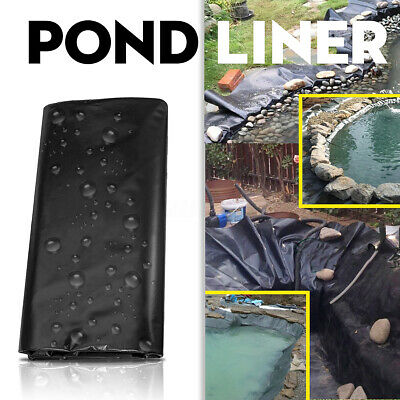 13 Sizes Pond Liner Pool Durable HDPE Fish Guarantee Suit All Weather Garden