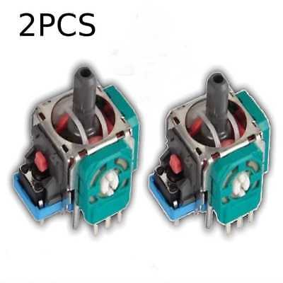 2Pcs Replacement Joystick Axis Analog Sensor Playstation 4 PS4 Controller LA3