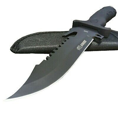 Sharp Outdoor Camping Tactical Razor Bowie Knife Survival Tool Sticker