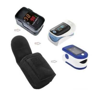 1*Finger Pulse Oximeter Pouch Protective bag Carry Case Equipment Container #HD3