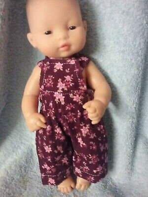 Handmade Clothes For 32cm Miniland Doll ,  Overalls