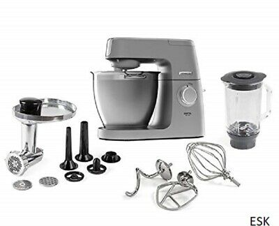 Kenwood Chef Elite KVL6370 Food Mixer, Blender, Mincer, 6.7L, 1400W, 8 Speeds
