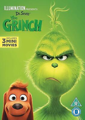 The Grinch [DVD] [2019] Free P&P 1st Class