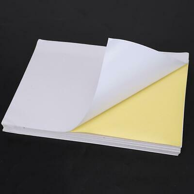 A4 TRANSPARENT CLEAR Glossy Self Adhesive Sticker Paper