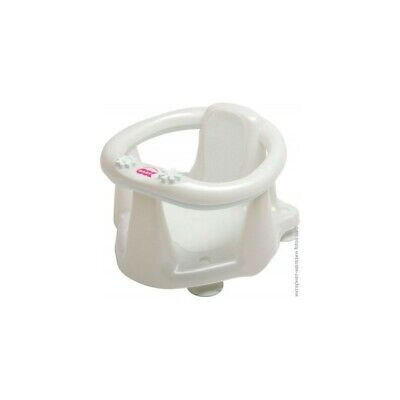 OKBABY Baby Bath Seat Flipper Evolution Basic White