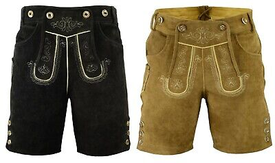 German Bavarian Oktoberfest Traditional Trachten Lederhosen - Sizes Available