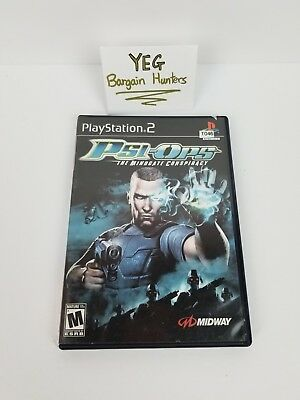 Psi-Ops: The Mindgate Conspiracy (Sony PlayStation 2, 2004) Complete Canadian