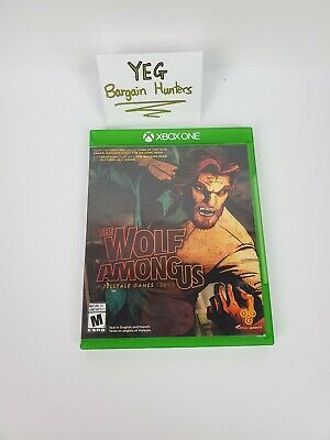 The Wolf Among Us (Microsoft Xbox One) Game/Case/Insert Tested Canadian Seller