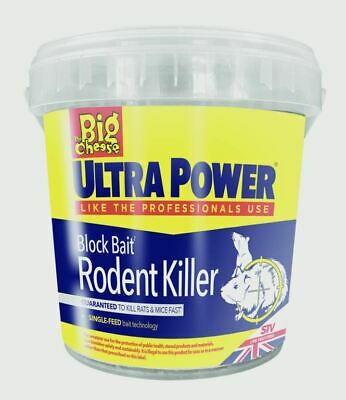 The Big Cheese Ultra Power Block Bait Refil 15x20g  Bait Stations STV568