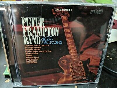 Peter Band Frampton - All Blues CD 2019