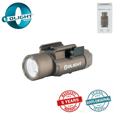 Olight PL-PRO VALKYRIE TAN - 1500LM Rechargeable weaponlight  - 5 Years Warranty