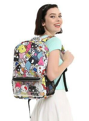 Hello Kitty Sanrio Friends Character Backpack.Bnew!