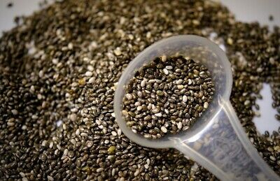 Dark Chia Seeds 1kg - 10kg | Omega 3 Raw Chia | Healthy Seeds | Weight Loss
