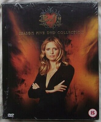 Buffy The Vampire Slayer season five DVD Collection (New and Sealed)
