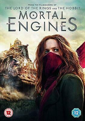 Mortal Engines DVD. New and sealed. Free 1st Class P&P