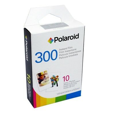Polaroid 300 instant film X 9 packs of 10 shots (expired film)
