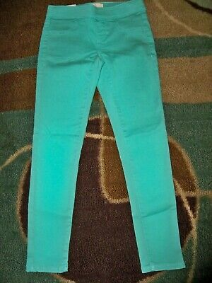 NCO Girls size 8 Pull on color Black Jeggings NWT