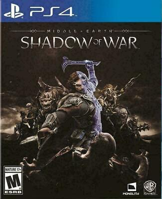Middle-Earth Shadow of War PlayStation 4, PS4 Brand New