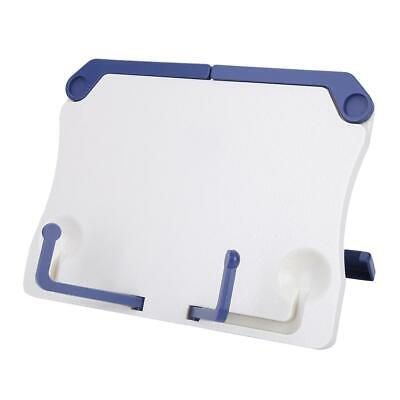 Adjustable Angle Plastic Book Stand Foldable Portable Document Reading Book New