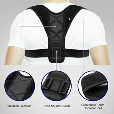 Back Posture Corrector Clavicle Support Brace Back Pain Relief for Women & Men